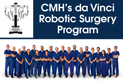 CMH da Vinci Robotic Surgery Program
