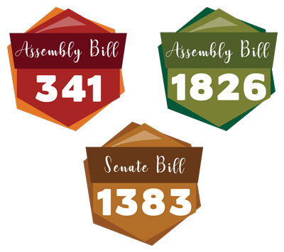 Assembly and Senate bill graphic